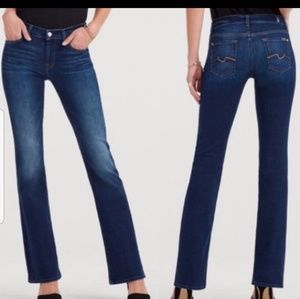 7 For All Mankind Karah Bootcut Jeans Size 25